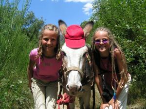 randonnée avec âne dans les Pyrénées