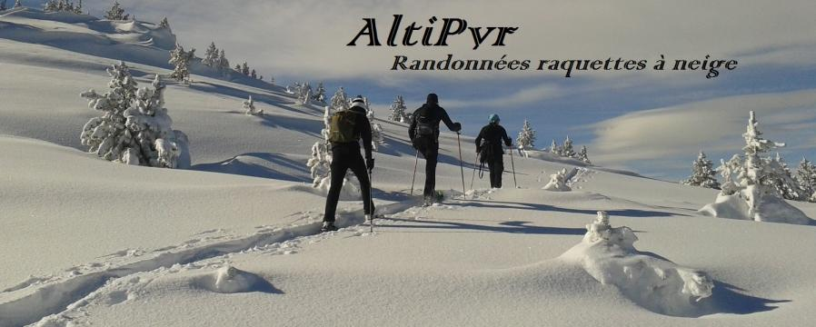 Bandeau raquette a neige altipyr pyrenees